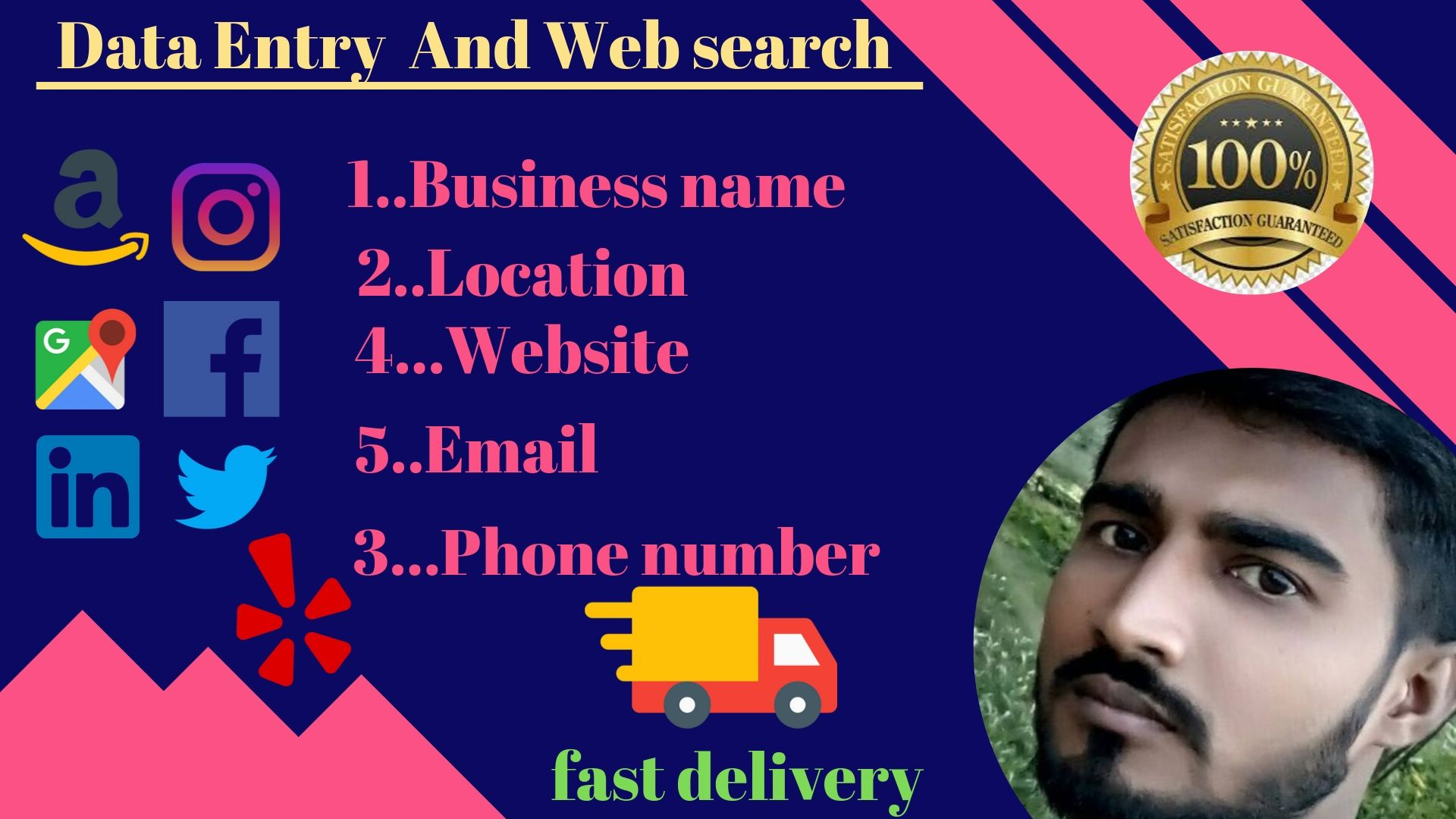 Do Advance Data Entry And Web search in your time