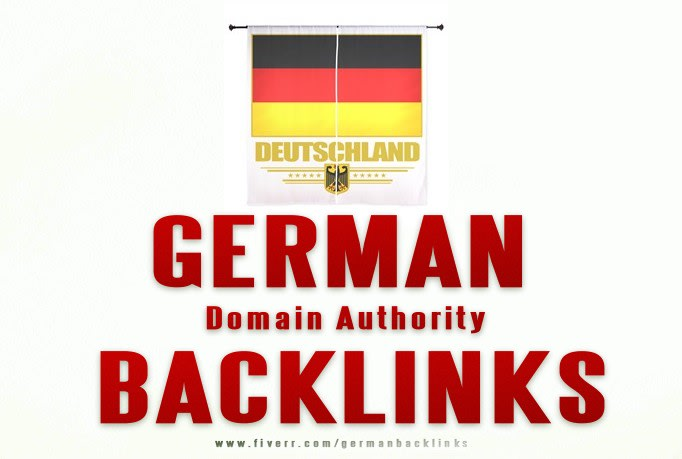 33 DA Domain authority dofollow german backlinks