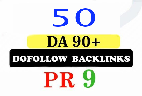 Build 50 Pr9 Da 90 High Authority Profile Backlinks