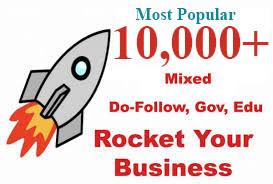 10000 Backlinks For Business Websites