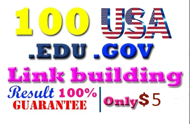 I will do 100 USA backlinks best rank at google