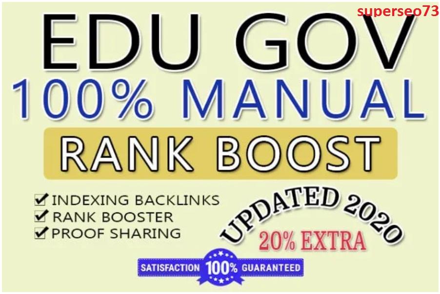 200 EDU High Authority Dofollow Backlinks.