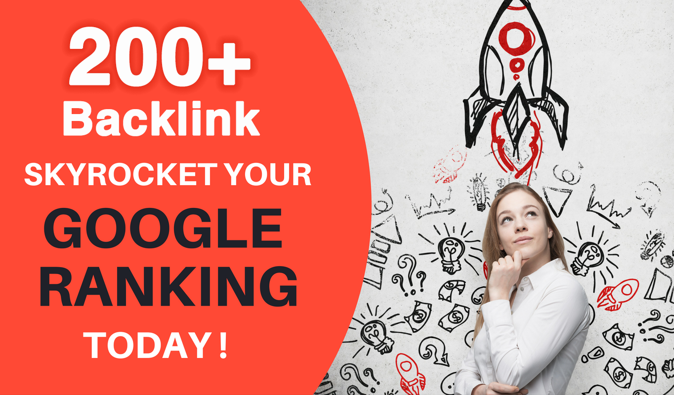 I Will Rank Google Higher By High DA/PR 200+ SEO Backlinks 2020 Best Results