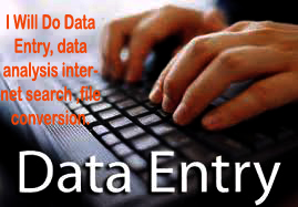 I have experience in data entry, copy paste, Photoshop, photo editing file conversion, background.
