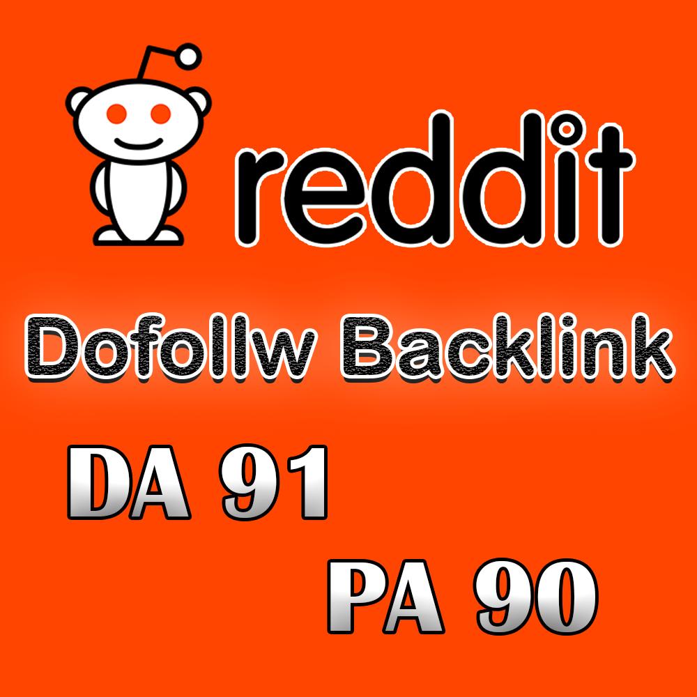 DA 91 Reddit Profile Backlink can increase traffic on your site