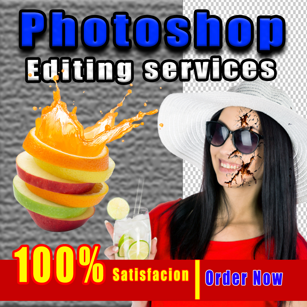Fast any Photoshop editing / Photoshop retouching professionally