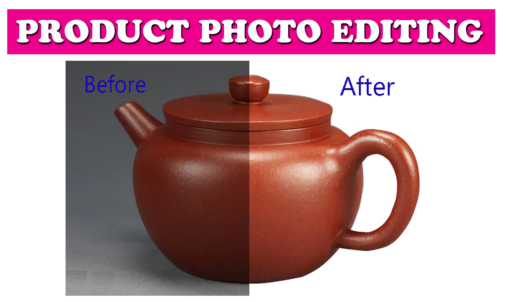 12 Product Images background removal and retouching for online stores