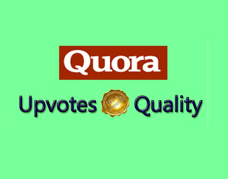 Provide you Quora 30 upvotes within few hours