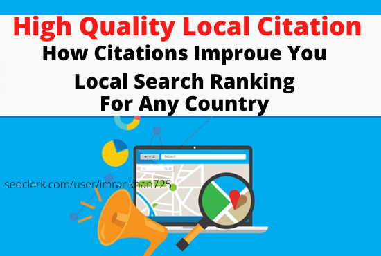 I will boost your business on google with local citations for any country