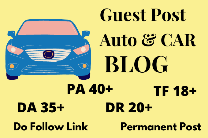 I will do a guest post on DA 35 auto blog