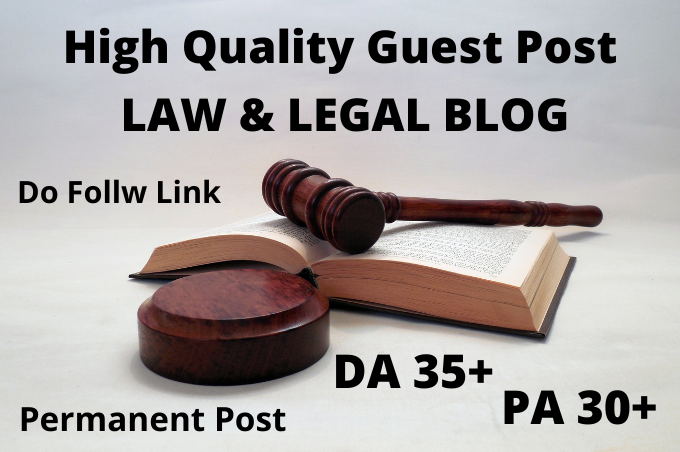 I will submit a guest post on a quality law blog