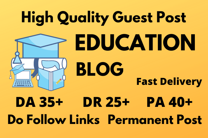 I will do guest post on education blog da37