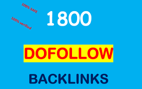 Provide 1800 DoFollow PR1-8 Backlinks best for your seo