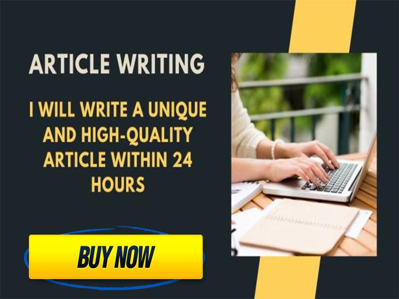 write a unique 500 words SEO friendly article