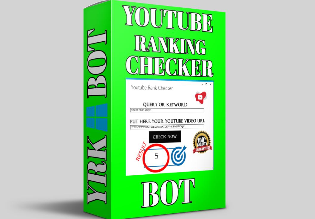 Youtube Video Rank Checker Software Bot