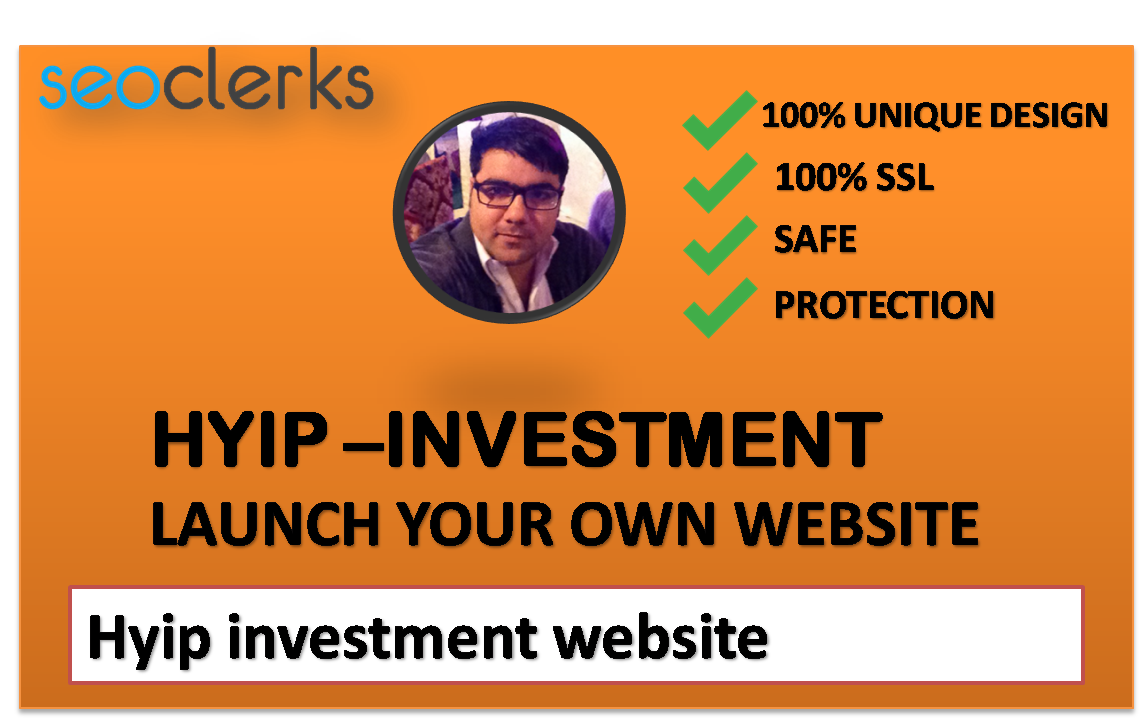 I will make for you hyip-investment website