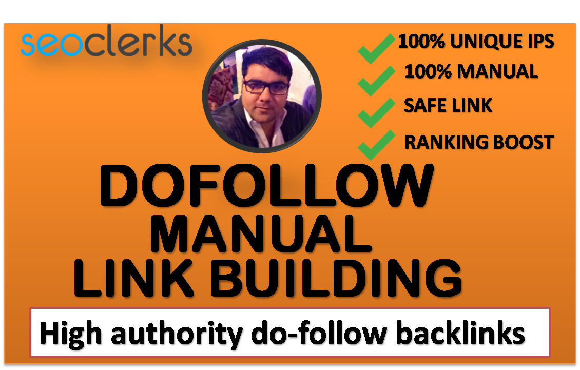 I will make high quality da 50 plus do follow SEO backlinks