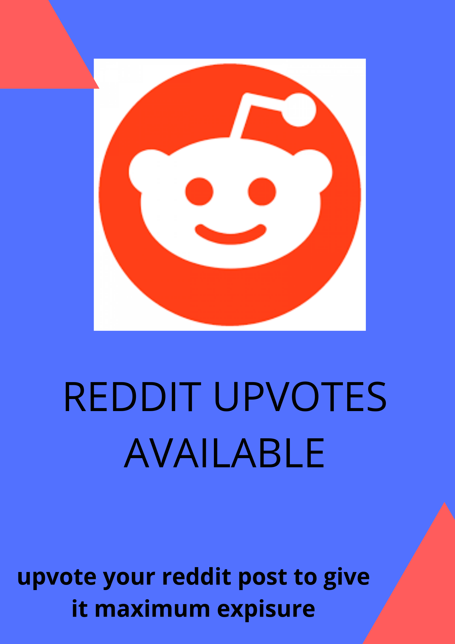 10+ high quality reddit upvote to your link