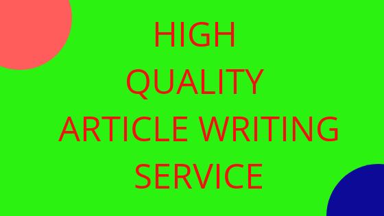 High quality unique money site article