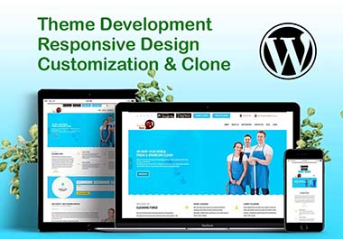 i will design professional SEO friendly and responsive wordpress website