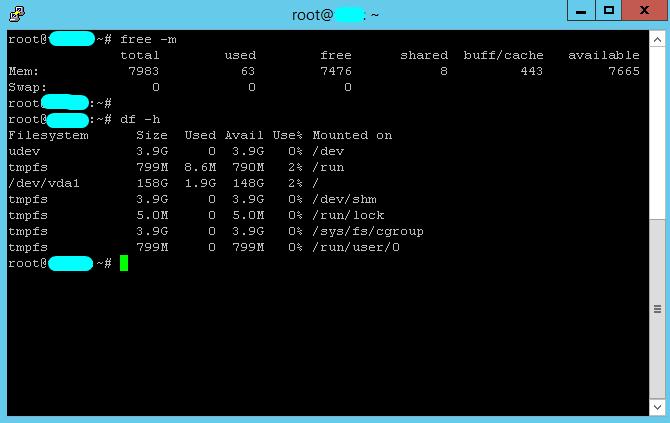 Linux VPS 8GB RAM , 200SSD , 4vCPU - Renewable
