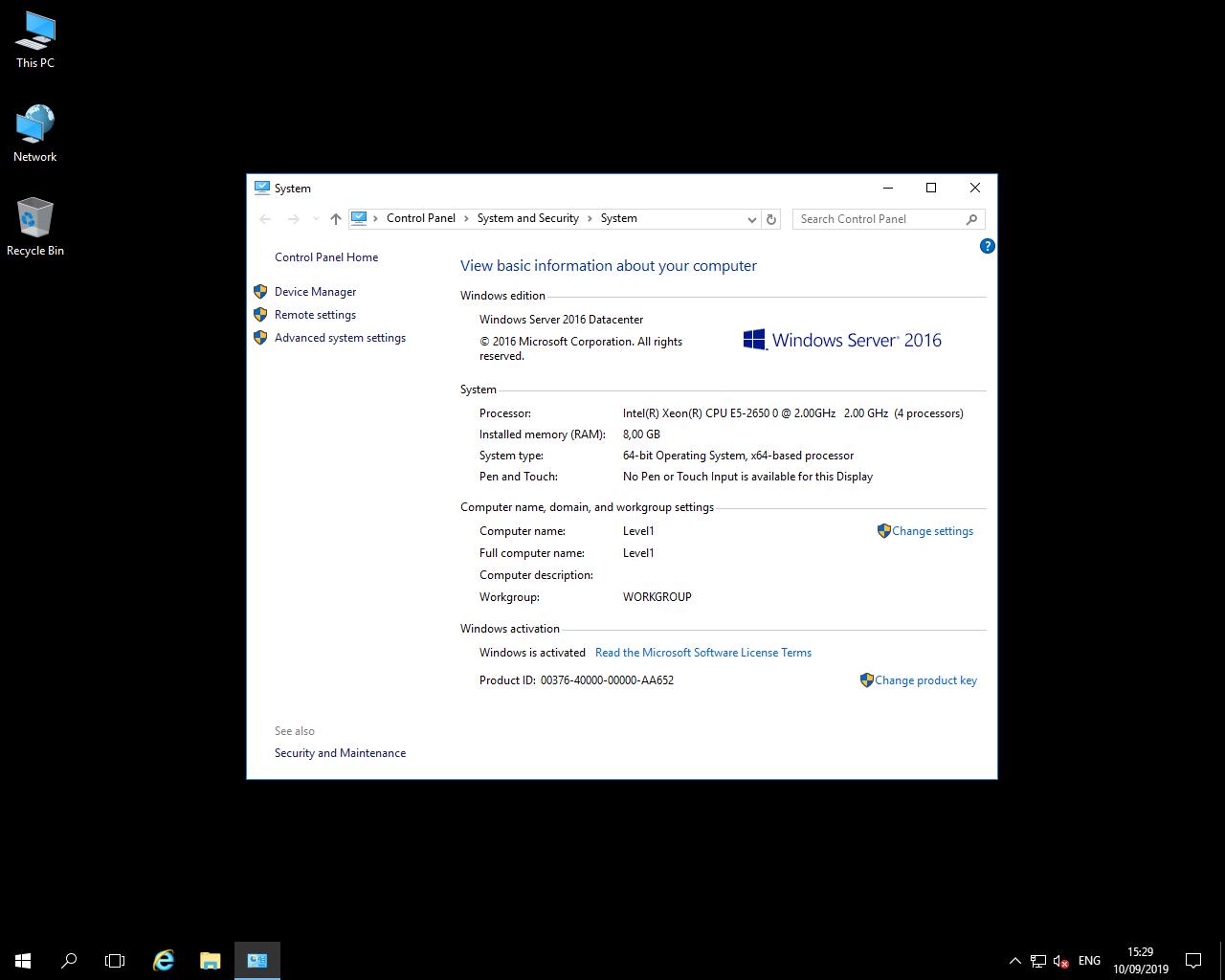 Windows VPS 8GB RAM , 160SSD , 4vCPU - Renewable
