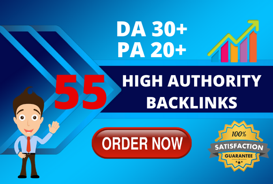 i will provide 55 high authority dofollow blog comment backlinks