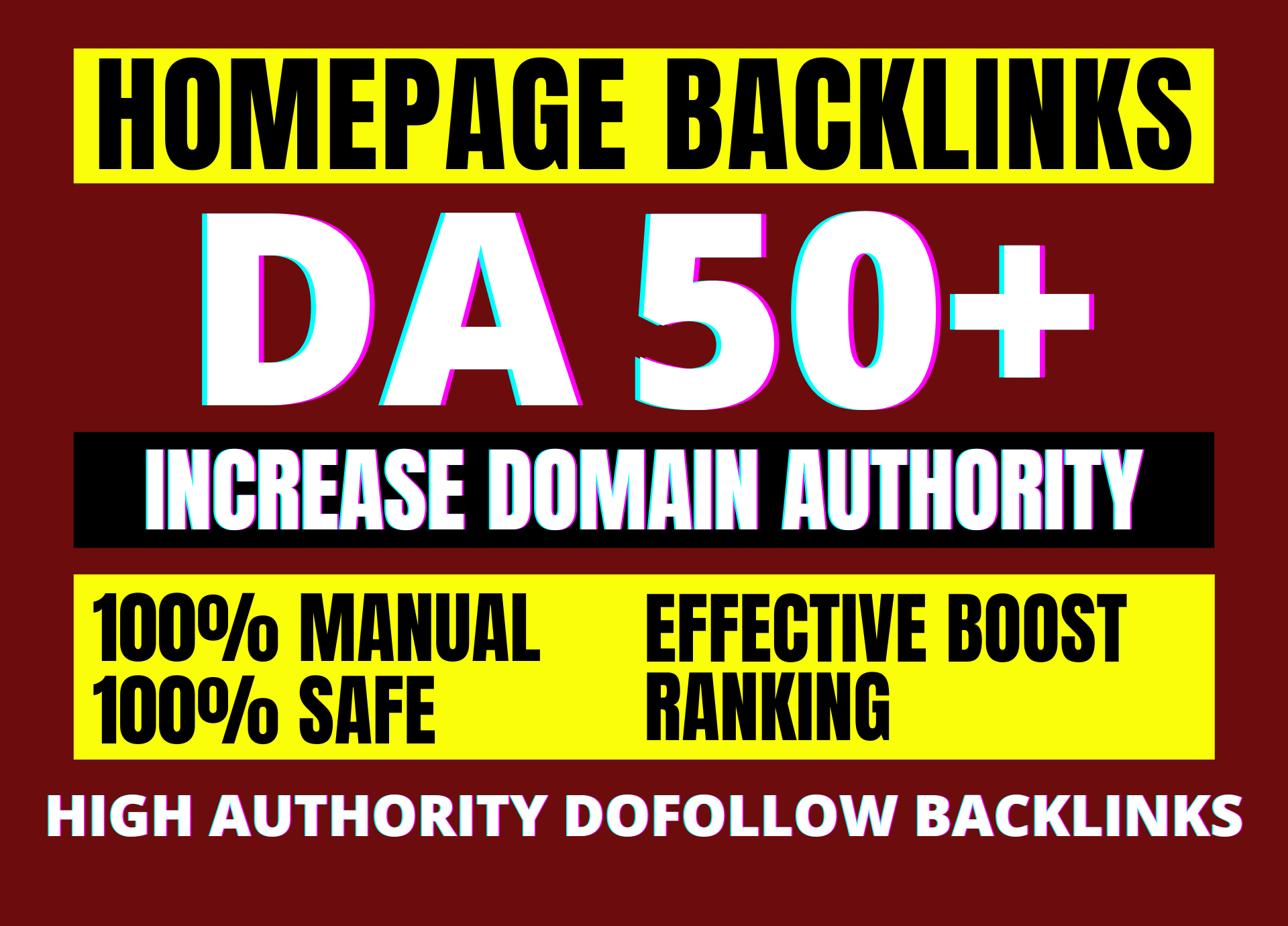 I will increase domain authority DA 50+ by SEO high authority backlinks