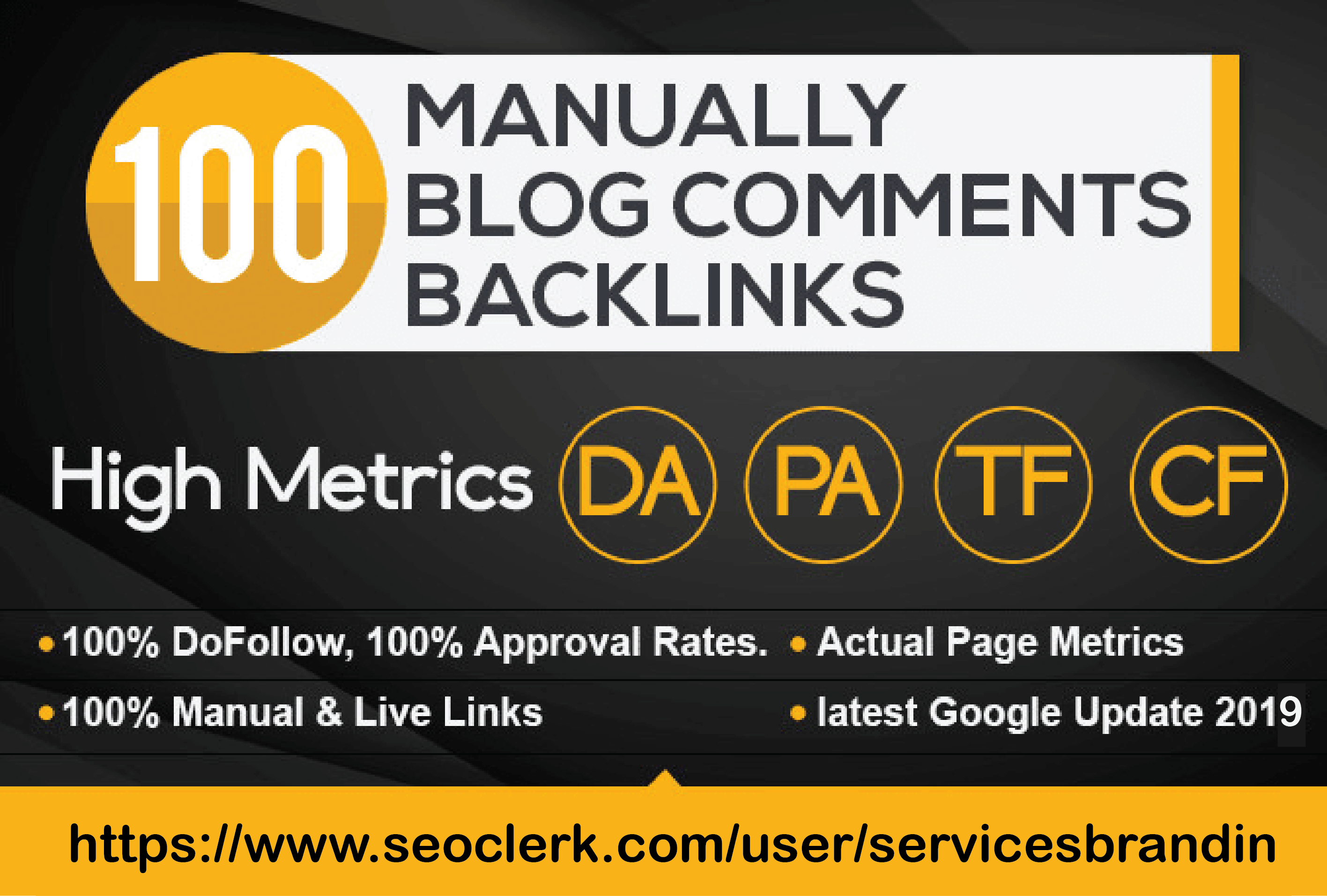 build dofollow high quality 100 blog comments submission