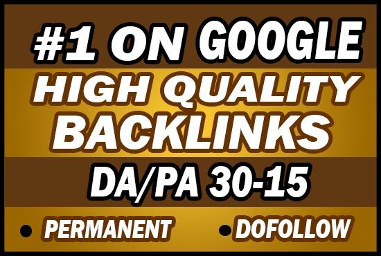 Provide 40 HIGH QUALITY Permanent PBN Backlinks