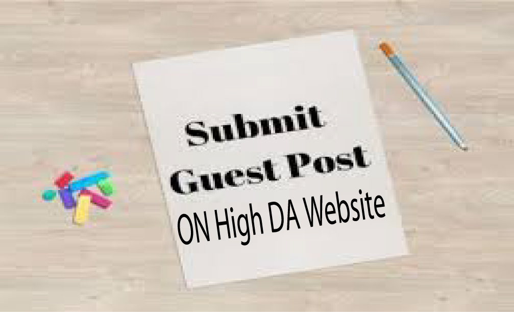 Write And Publish 1 Guest Post on 90 plus DA website SEO backlinks