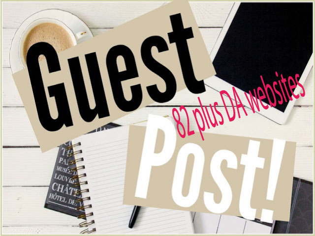 Write and Publish 3 Guest Posts on 82 plus DA Blogs for your Boost business