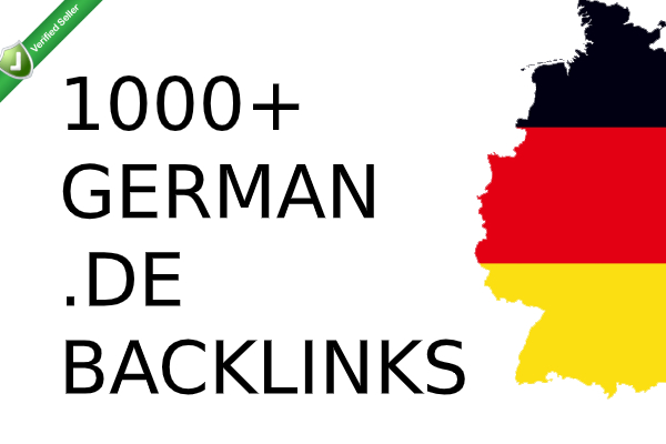 High PR DA German seo backlinks with keyword related content.