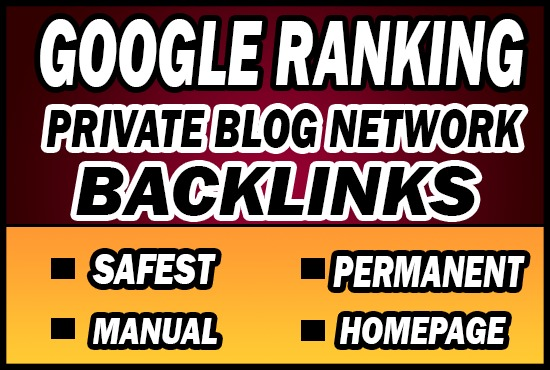 Provide 50 PBN Private Blog Network Backlinks