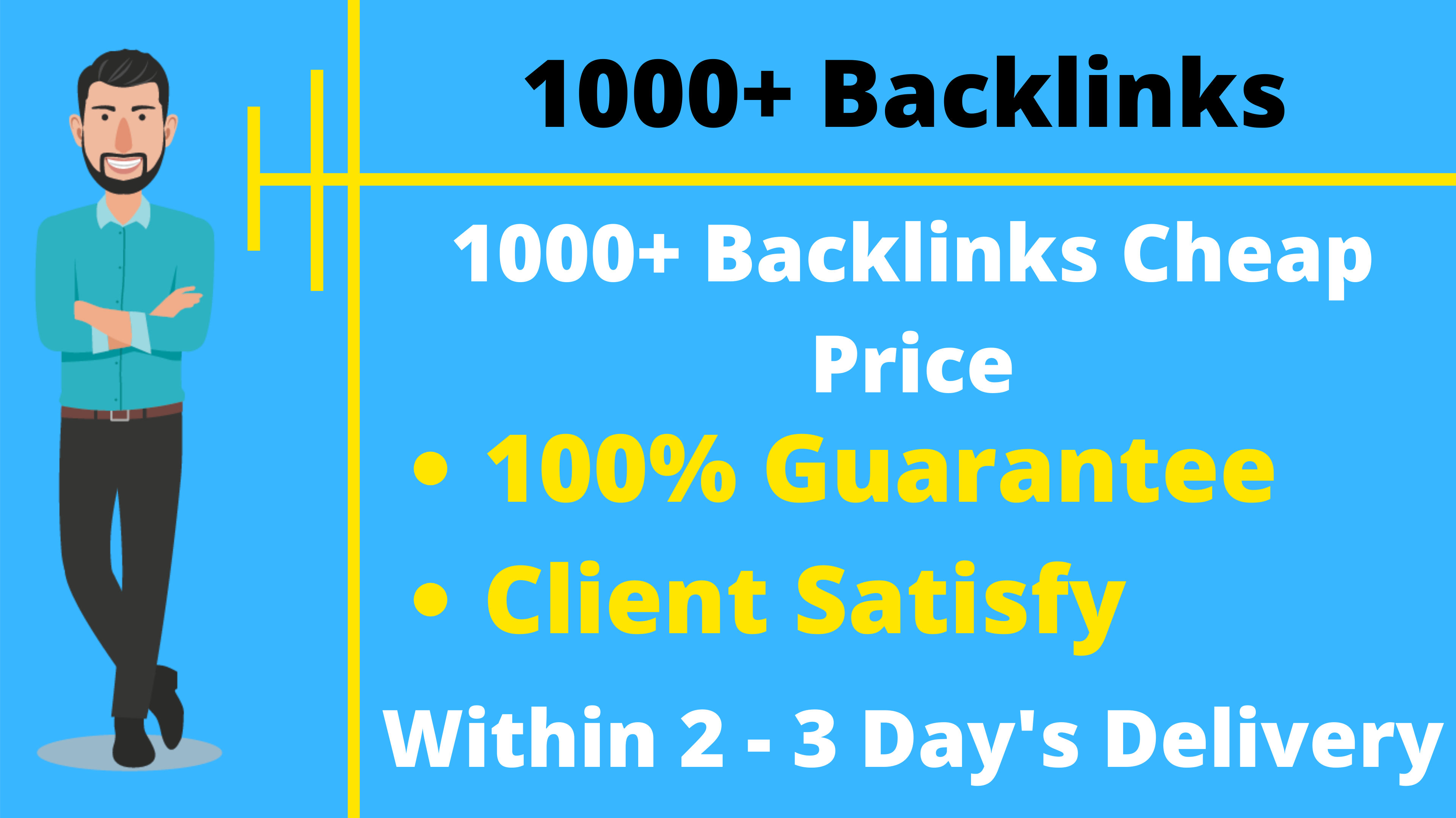 1000+ Quality Backlinks Cheap Price Offer Limited Time