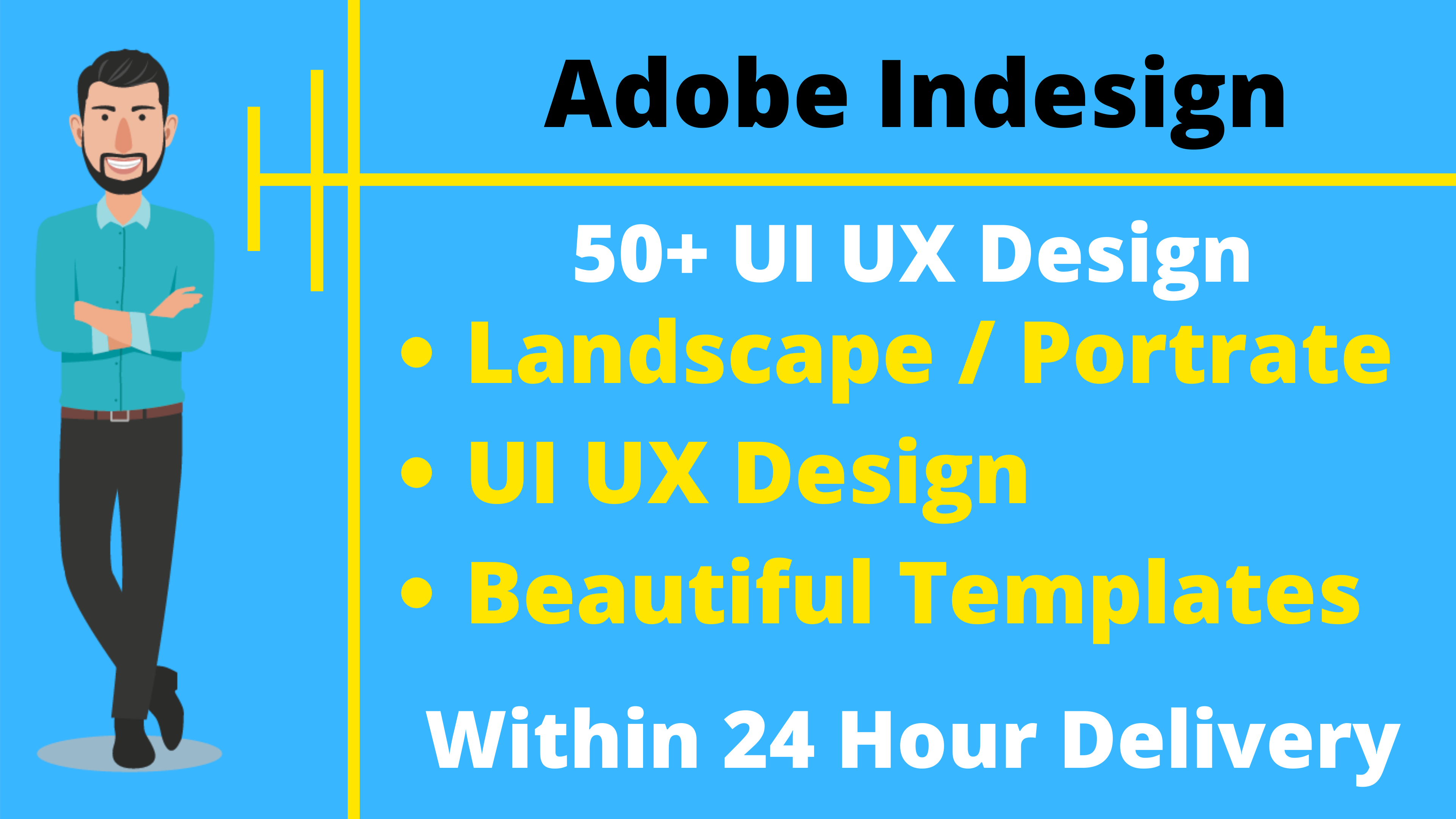 50+ Adobe Indesign UI UX Design Templates