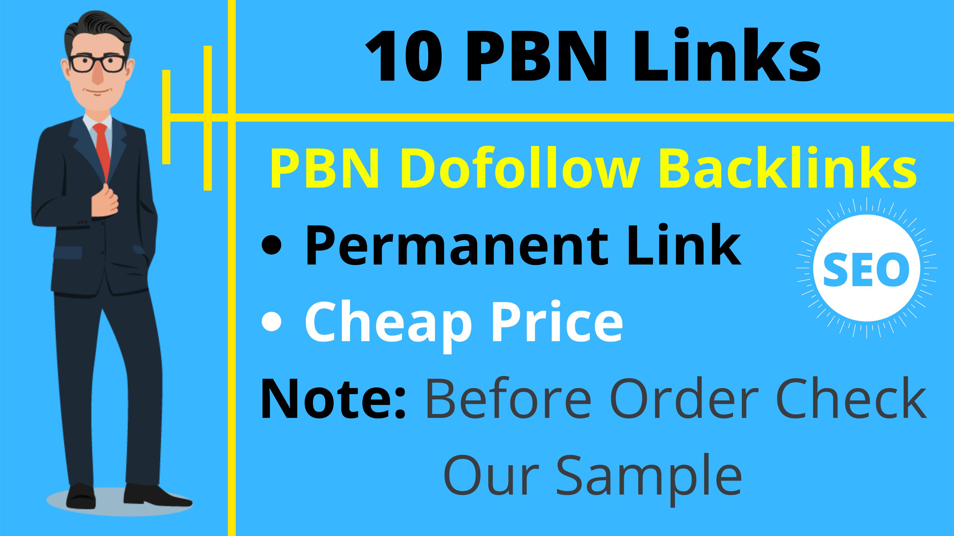 10 PBN Bog Homepage DoFollow Backlinks SEO Cheap Backlinks