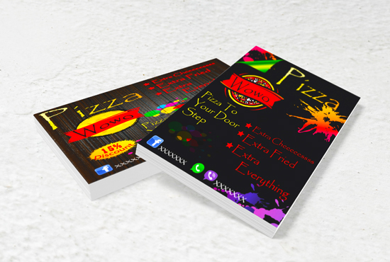 I will design amzing Flex , banner , Fb post in 24 hour