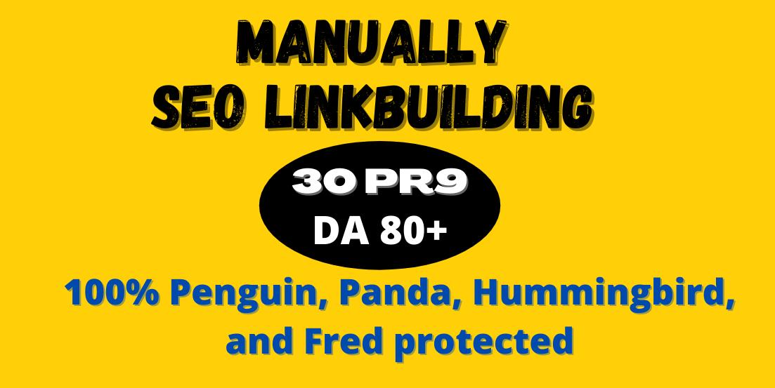 I Will Do 30 PR9 High Authority Profile Backlinks - Skyrocket your Google RANKINGS