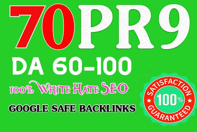 Manually 70 Pr9 High SEO Authority Backlinks - Fire Your Google Ranking