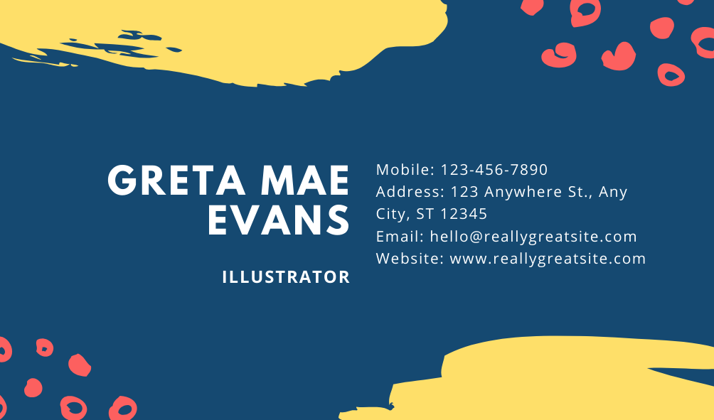 I will design business card and/or personal card