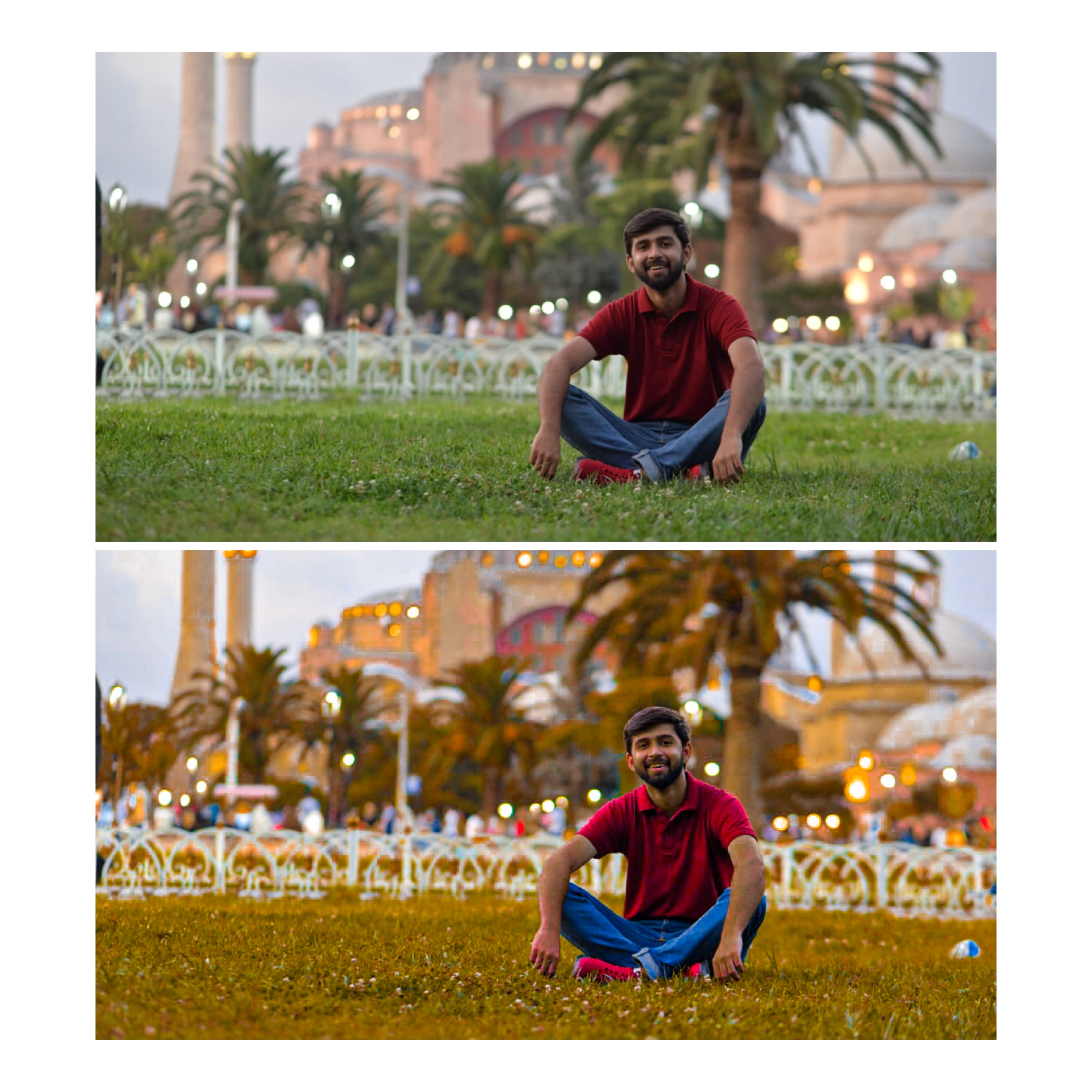 Edit pictures on Adobe Photoshop and Lightroom for Instagram and color correction
