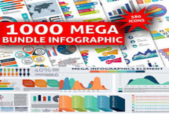 Provide you 1000 infographic templates