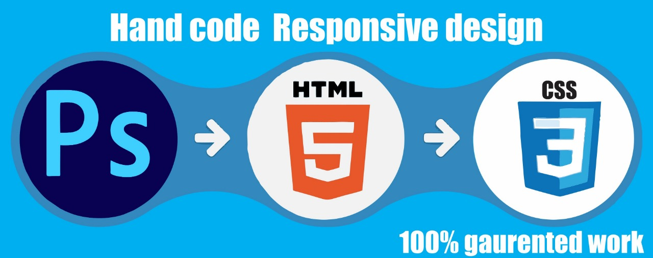 I will convert PSD into responsive html css using bootstrap jquery