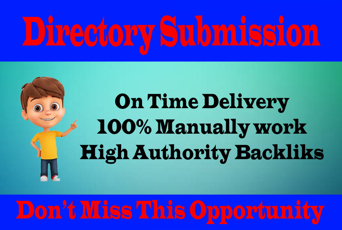 I will provide 50 Dofollow directory submission for website