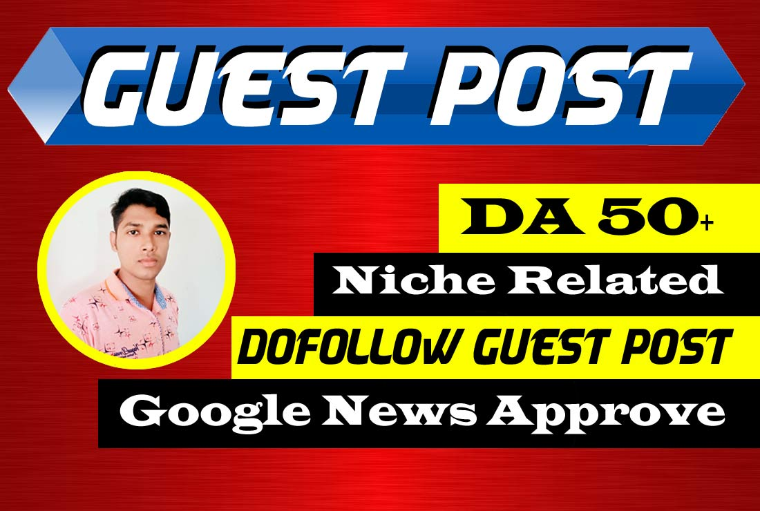publish a niche dof0llow guest post on google news site