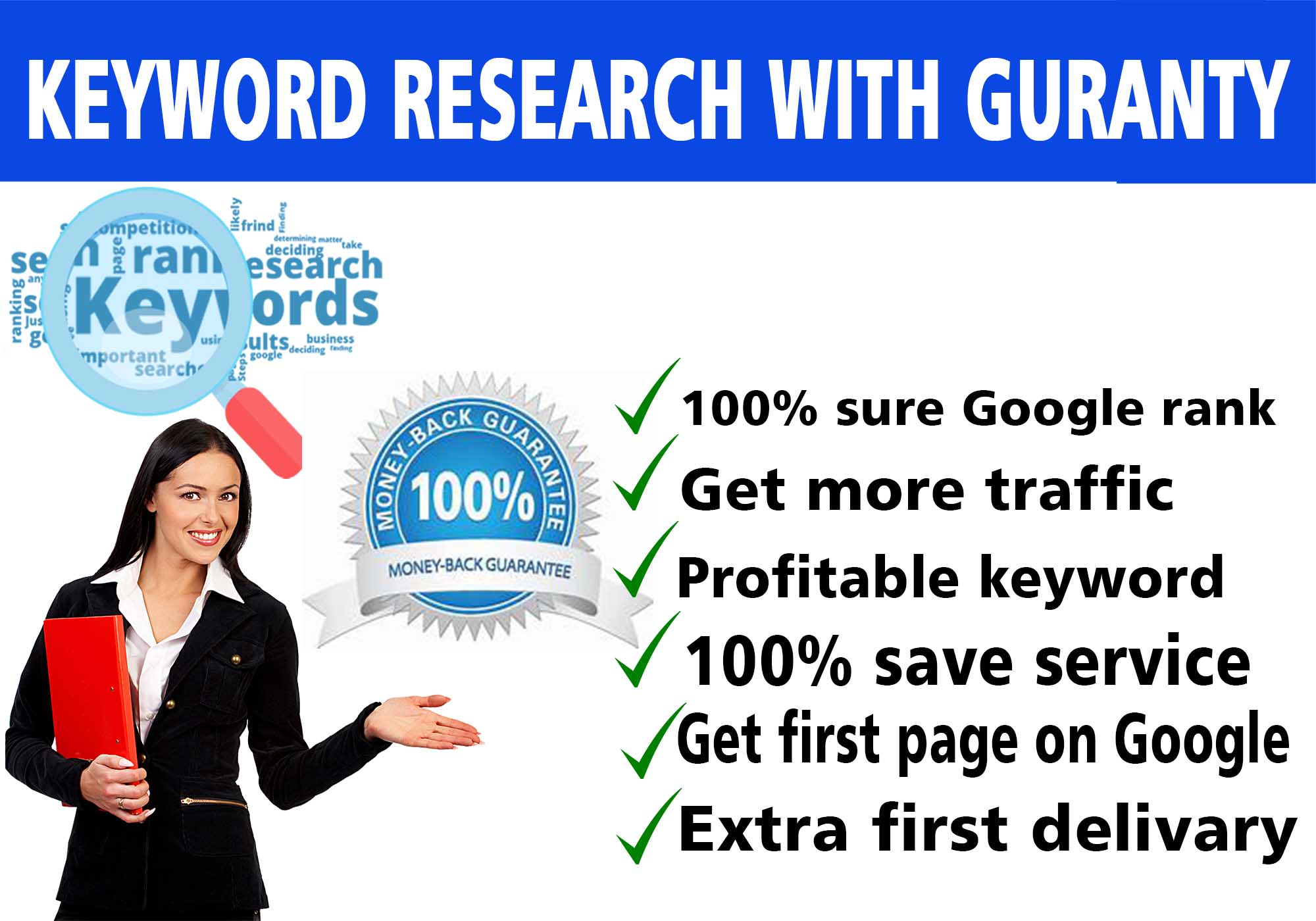 Google ranking,  Keyword Research and SEO Content