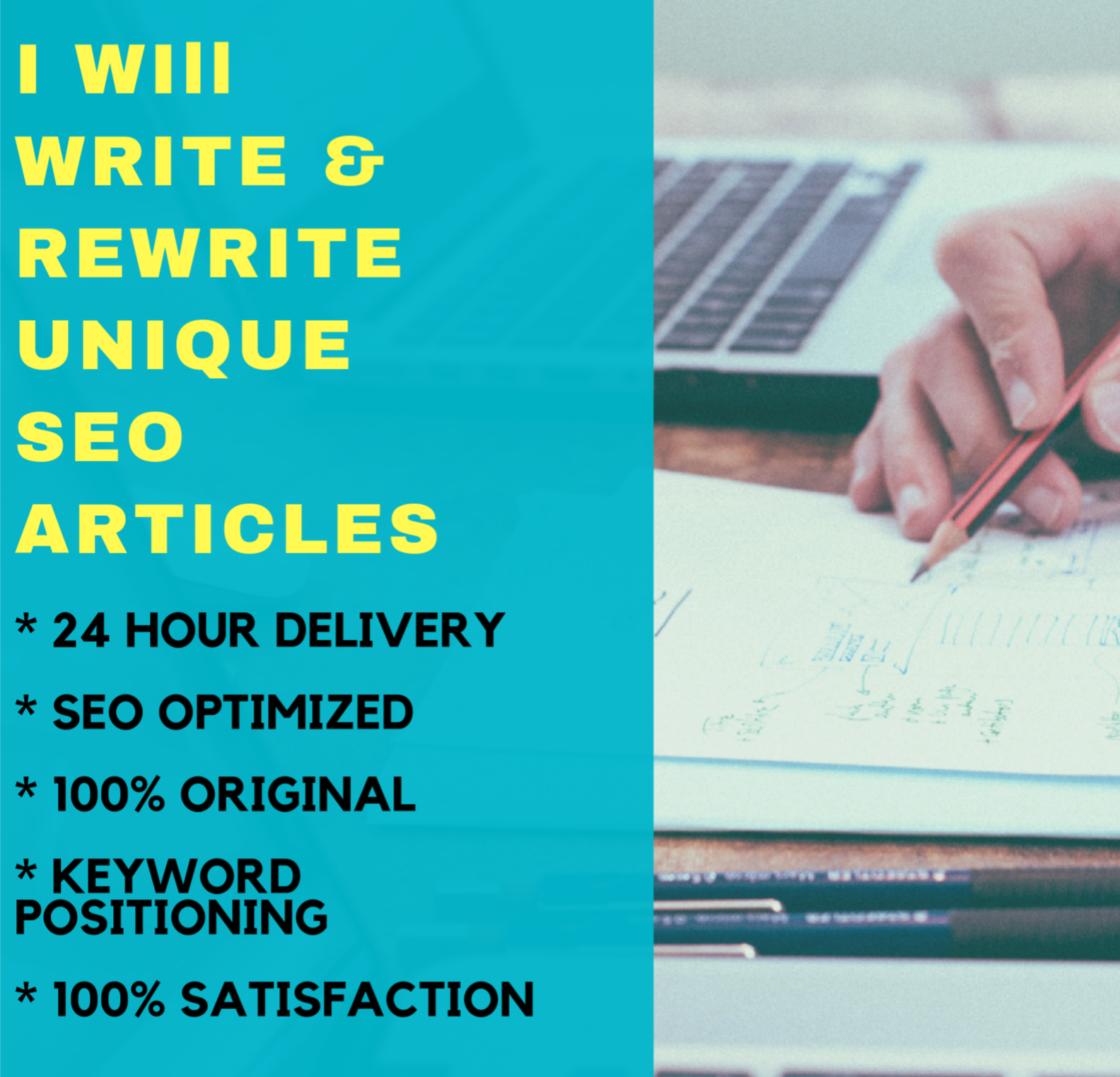 I will Research and Write 1000 Words SEO Unique Article
