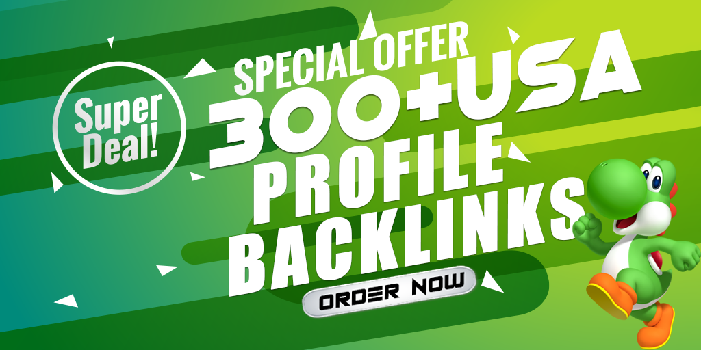 Rank on Google With 300 High DA 90+ PR9 Profile Backlinks