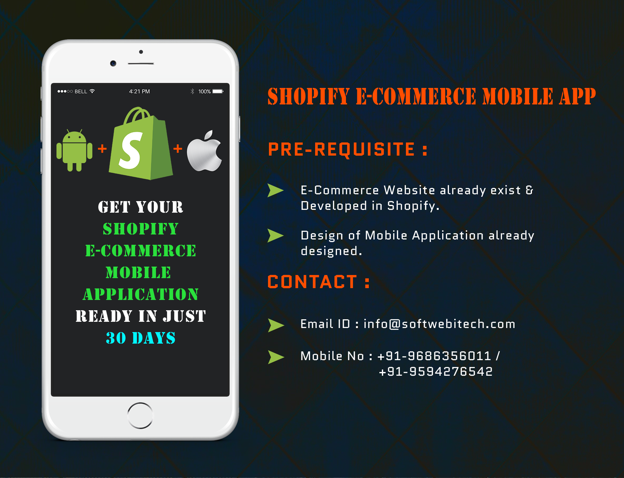 Shopify E-Commerce Mobile Application